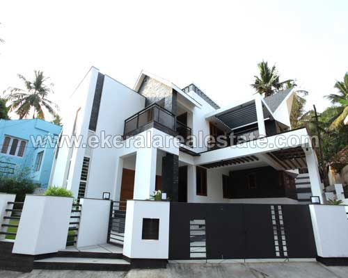 Peroorkada properties new model house for sale at New model contemporary house